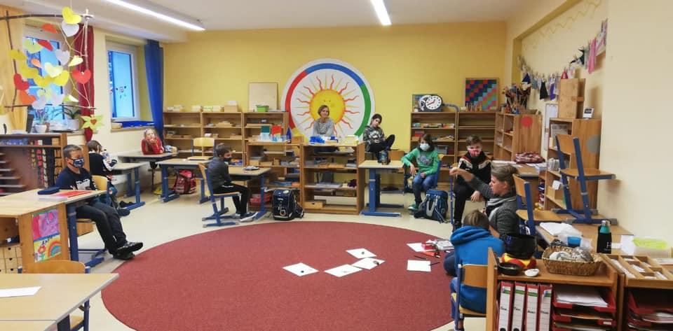 Schulunterricht während Corona