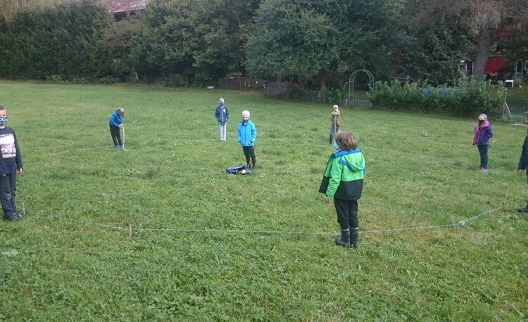 Geometrie im Schulgarten