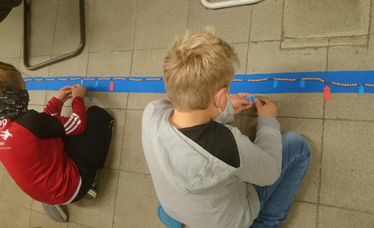 Montessori-Material 1000er Kette