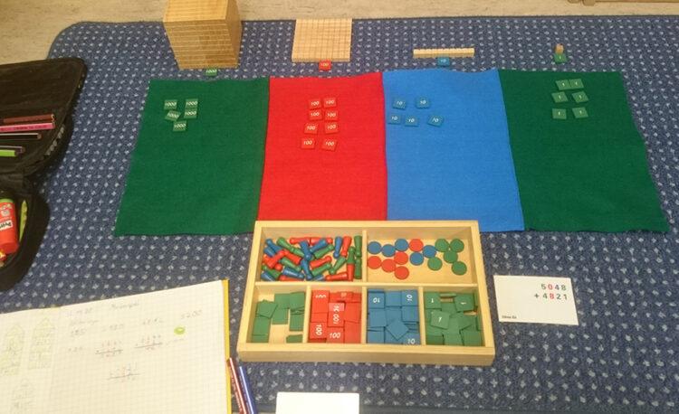 Montessori Material - Markenspiel