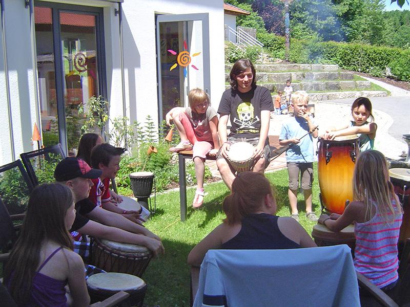 Schulalltag an der Montessorischule in Oberried und Grafenwiesen