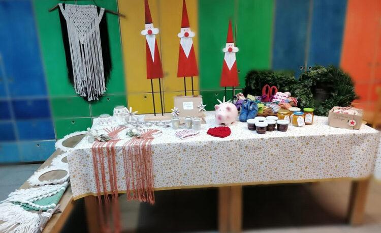 Weihnachtsmarkt an der Schule in Oberried